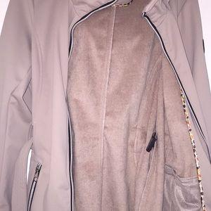 Steve Madden Jackets & Coats - NWT Steve Madden Tan Glacier Shield Jacket Size L